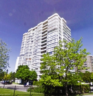 1101 Steeles Ave W. (Source: maps.google.ca) – This 18 storey residential condominium features 194 units and a two-level basement.