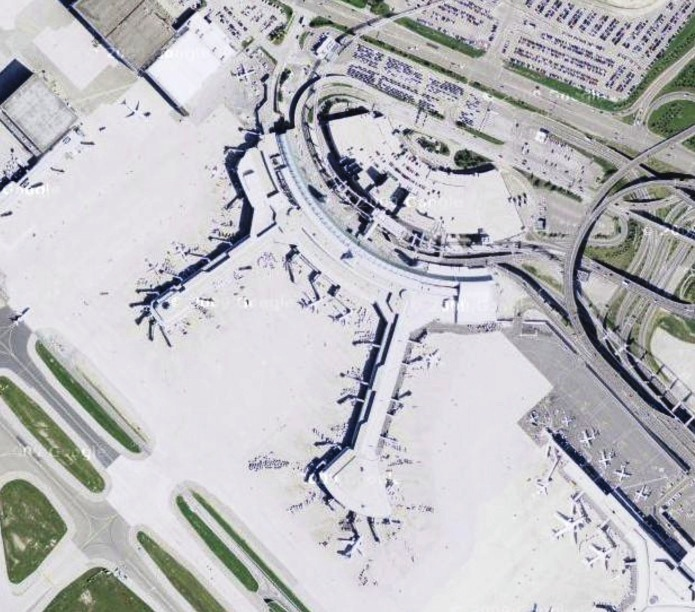 Toronto Pearson International Airport Terminal 3 Source wwwmaps